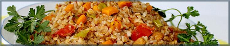 Як варити гречку з овочами - рецепт