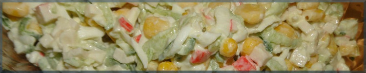 Салат з крабових паличок рецепт