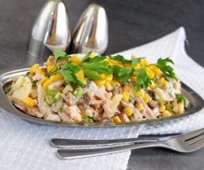 Салат з шампіньйонами: 4 смачних рецепти